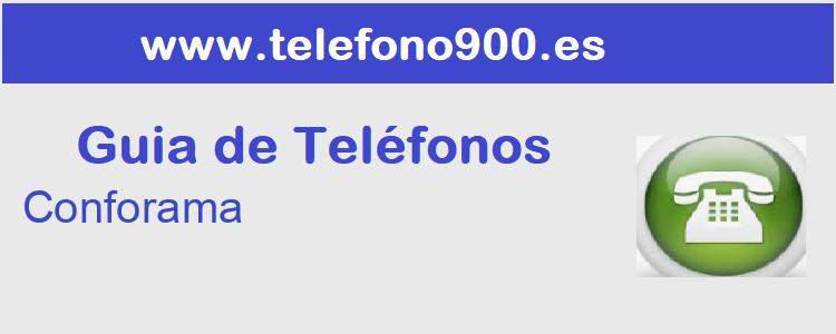 Telefono de  Conforama