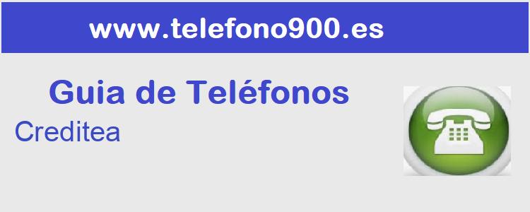 Telefono de  Creditea