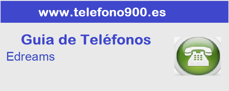 Telefono de  Edreams