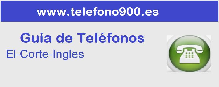 Telefono de  El-Corte-Ingles