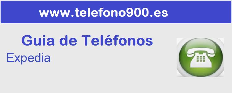 Telefono de  Expedia