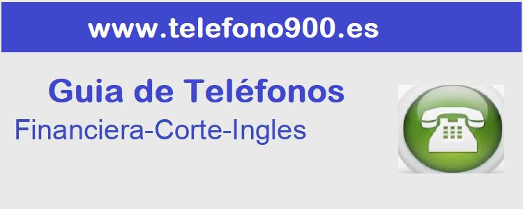 Telefono de  Financiera-Corte-Ingles