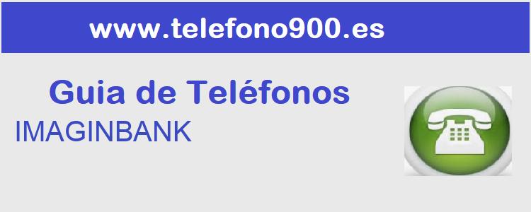 Telefono de  IMAGINBANK