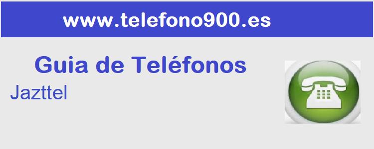 Telefono de  Jazttel