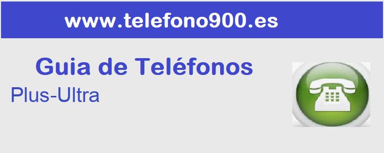 Telefono de  Plus-Ultra