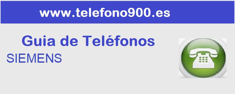 Telefono de  SIEMENS