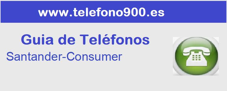 Telefono de  Santander-Consumer