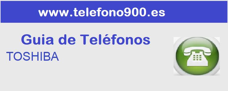 Telefono de  TOSHIBA
