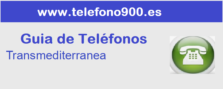 Telefono de  Transmediterranea