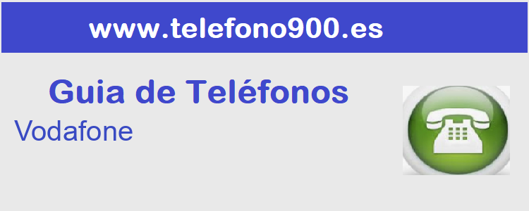 Telefono de  Vodafone