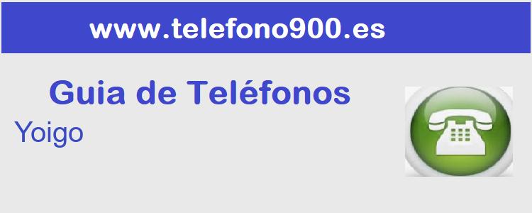 Telefono de  Yoigo