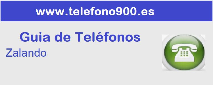 Telefono de  Zalando